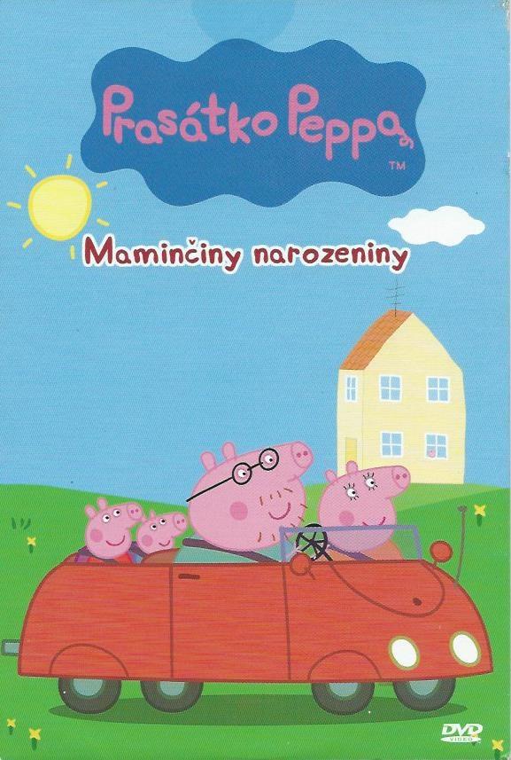 DVD Prasátko Peppa - Maminčiny narozeniny