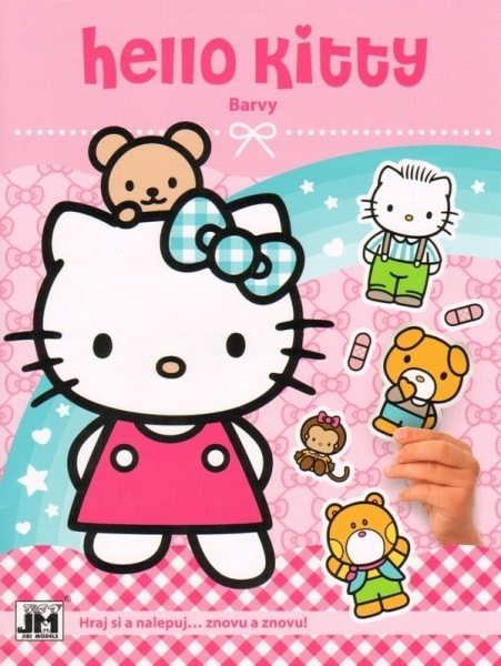 Hello Kitty barvy