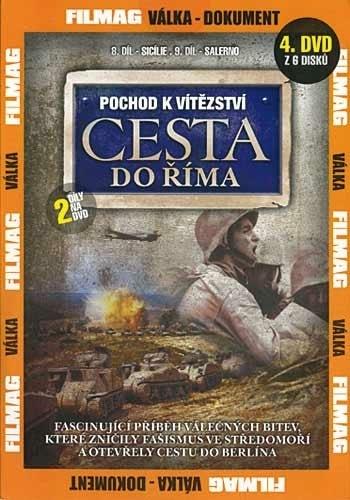 DVD Pochod k vítězství - Cesta do Říma 4