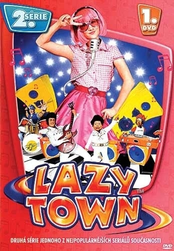 DVD Lazy Town 2. série 1. disk (Slim box)