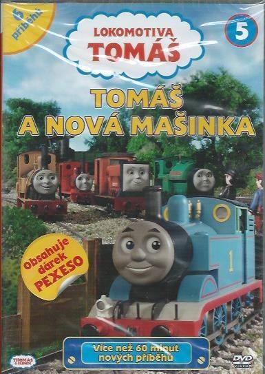 DVD Lokomotiva Tomáš 5 - Tomáš a nová mašinka