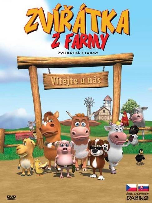 DVD Zvířátka z farmy