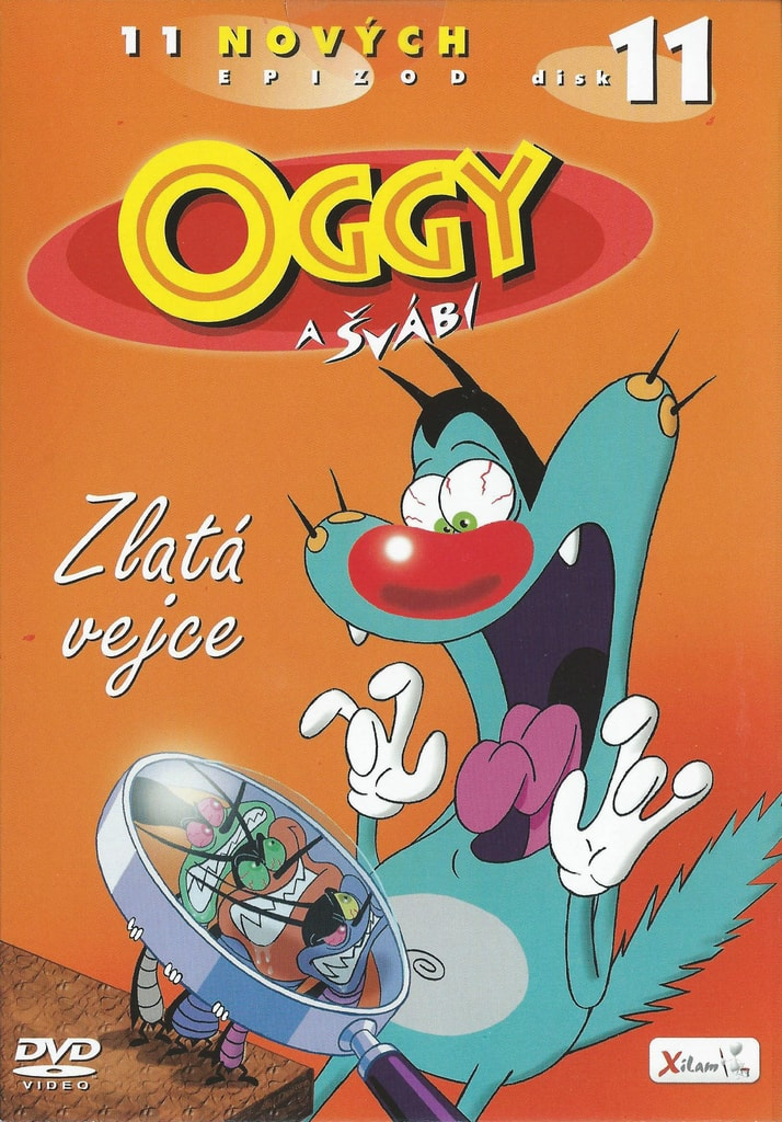 DVD Oggy a švábi 11 - Zlatá vejce