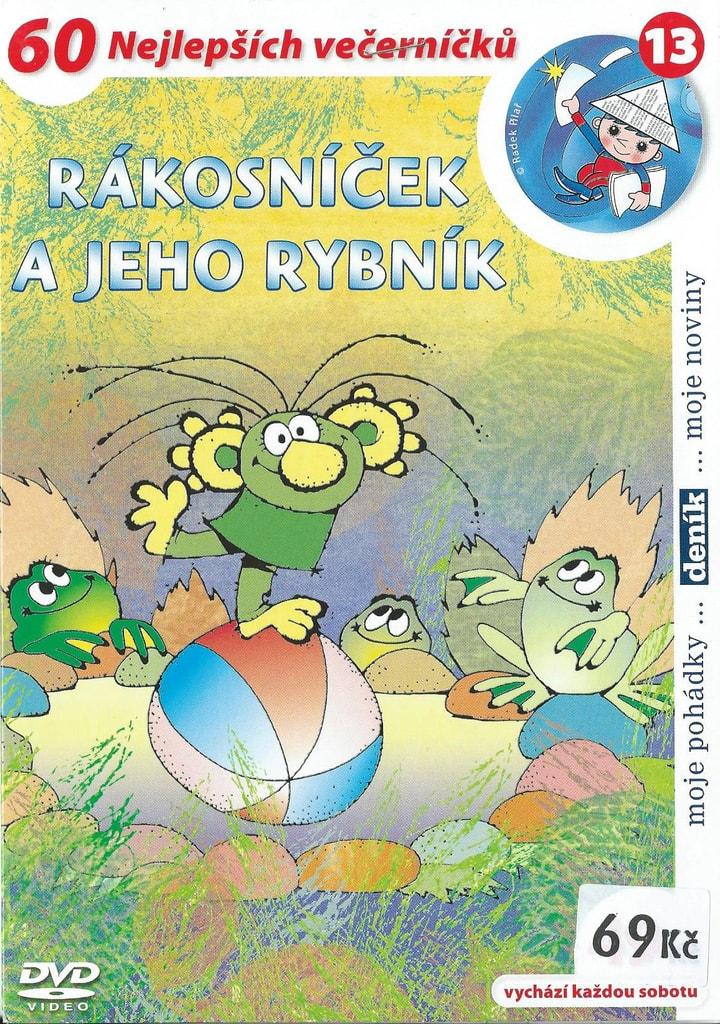 DVD Rákosníček a jeho rybník
