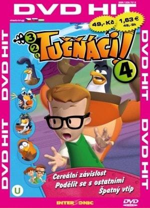 DVD Tučňáci 4