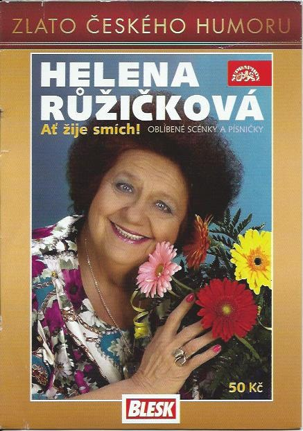 DVD Helena Růžičková - Ať žije smích!
