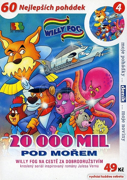DVD Willy Fog - 20000 mil pod mořem 4