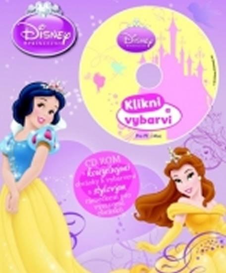 Disney Princezny - Omalovánky s CD