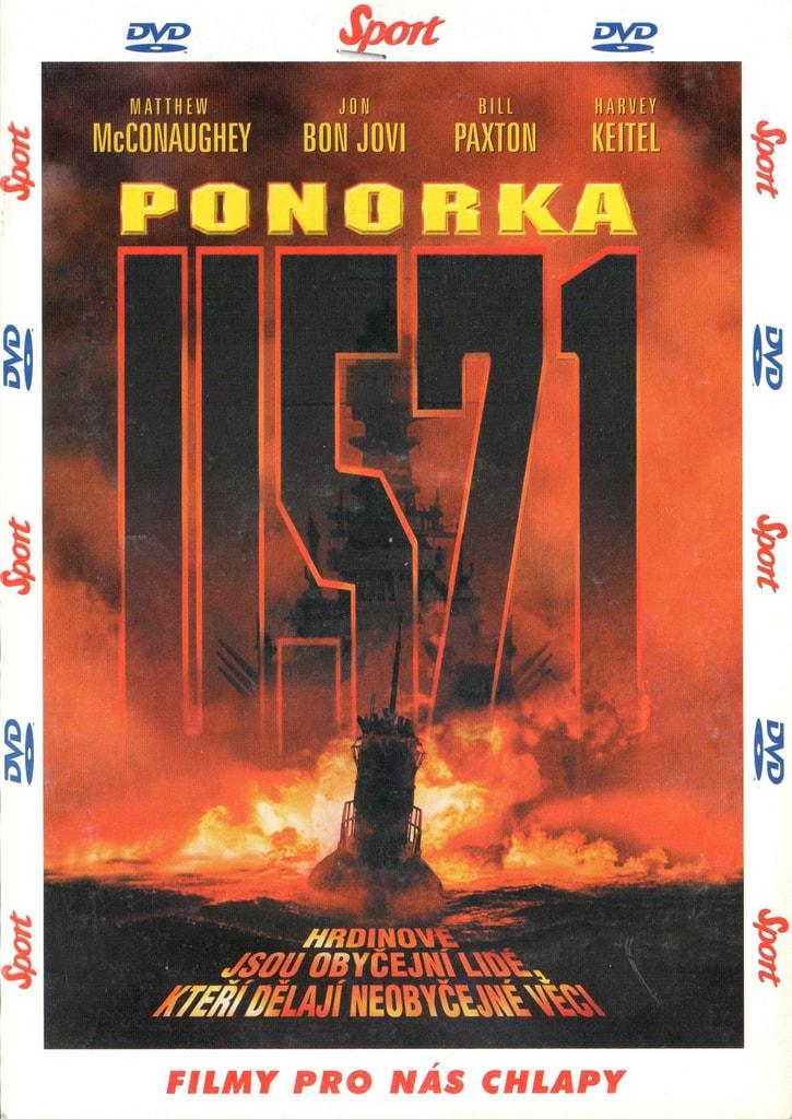 DVD Ponorka U-571