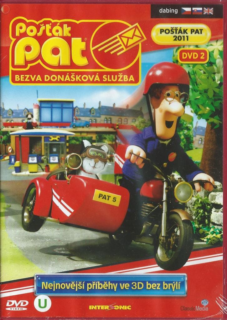 DVD Pošťák Pat - Bezva donášková služba DVD 2