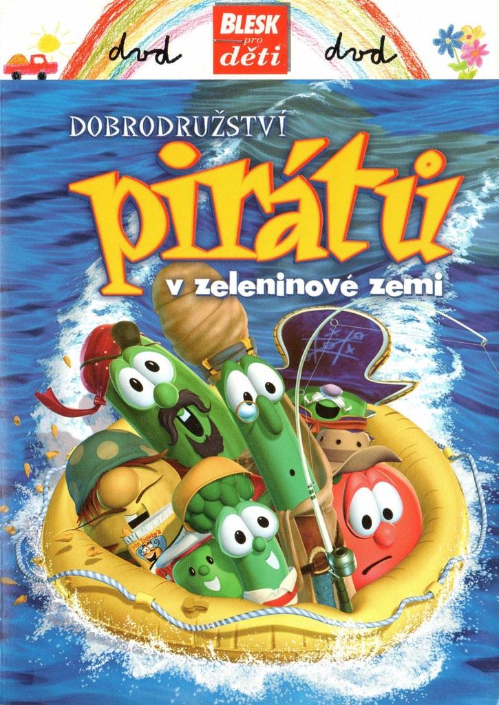 DVD Dobrodružství pirátů v zeleninové zemi