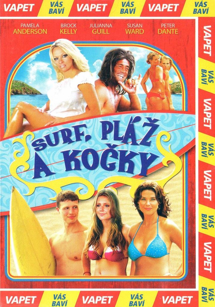 DVD Surf, pláž a kočky
