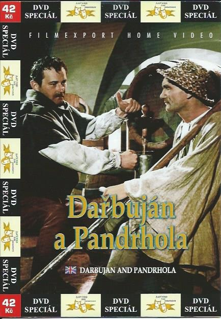 DVD Dařbuján a Pandrhola