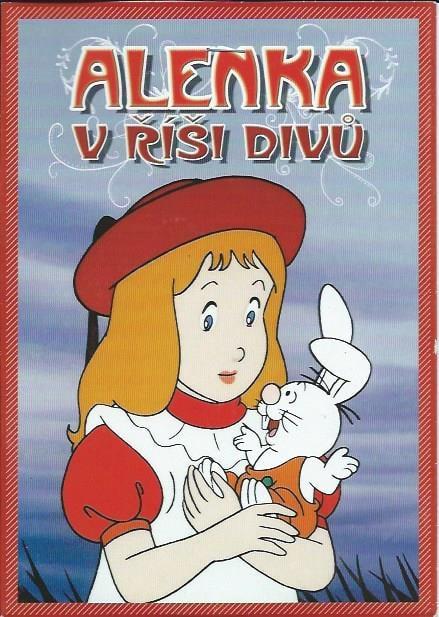 DVD Alenka v říši divů