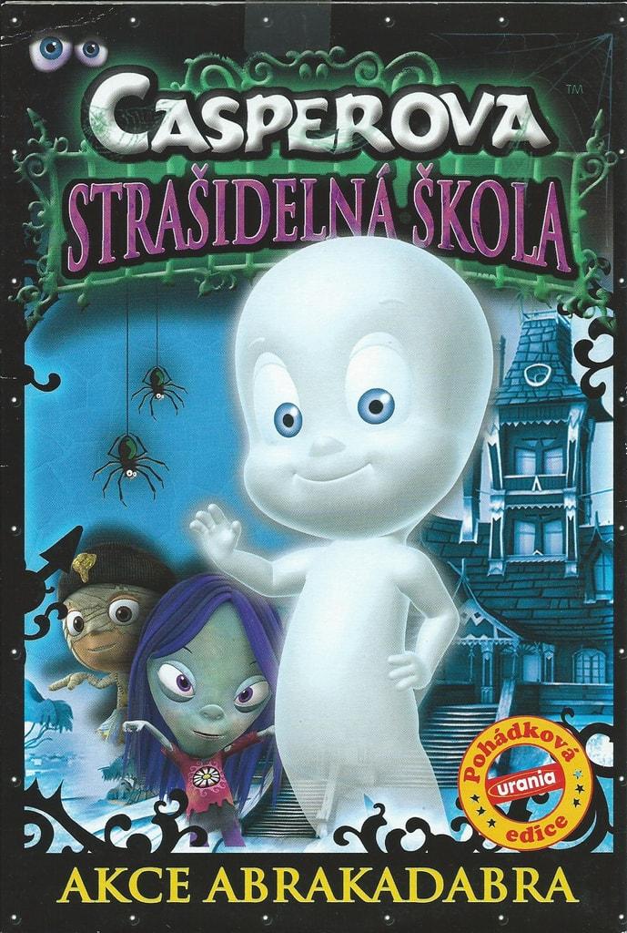 DVD Casperova strašidelná škola - Akce Abrakadabra