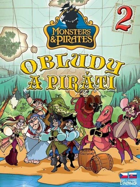 DVD Obludy a piráti 2