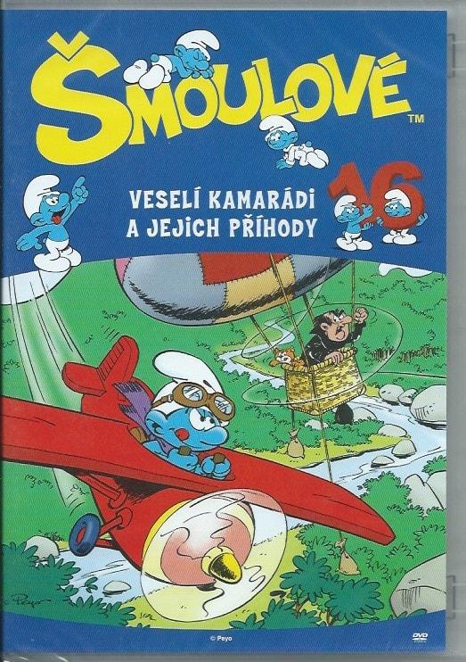 DVD Šmoulové 16