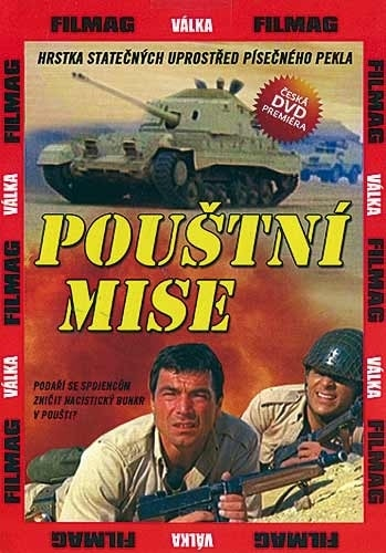 DVD Pouštní mise