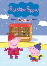 DVD Prasátko Peppa - Bruslení