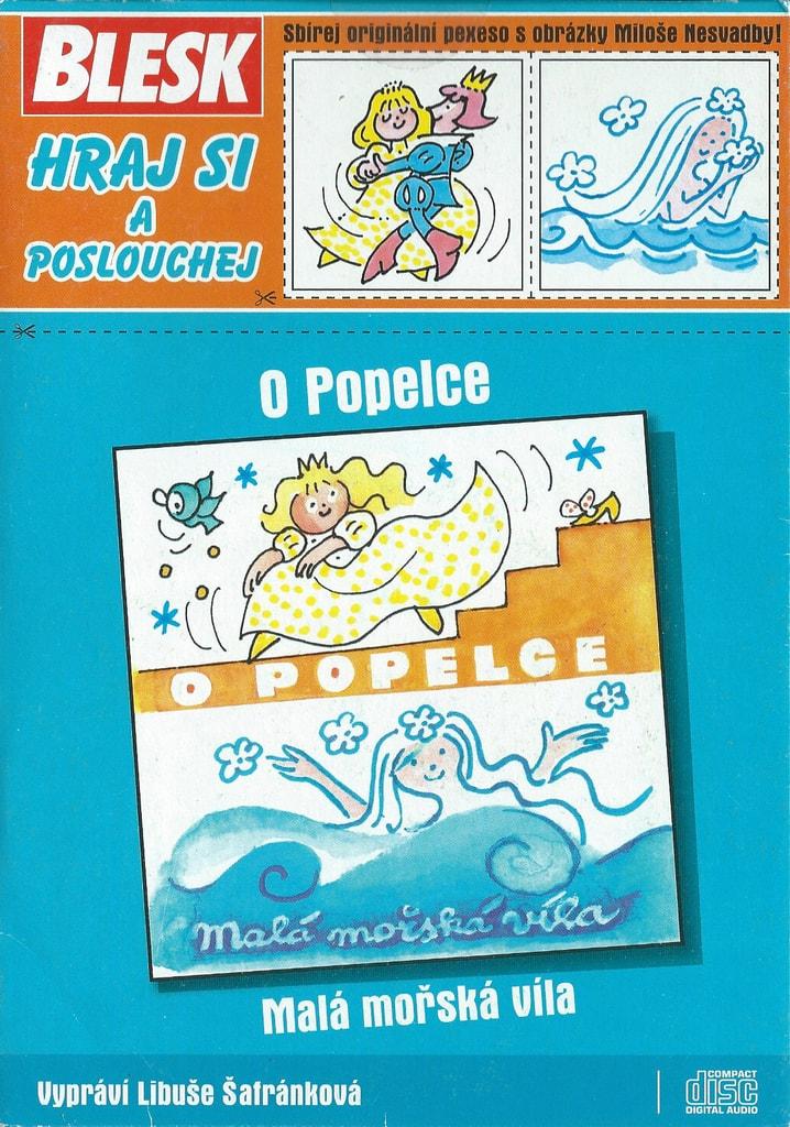 CD O Popelce / Malá mořská víla