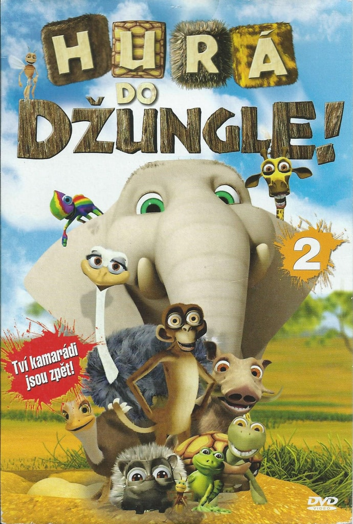 DVD Hurá do džungle! 2