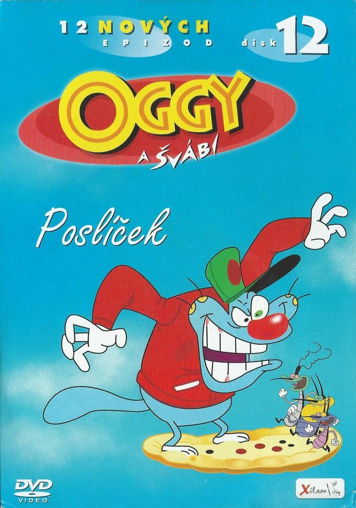 DVD Oggy a švábi 12 - Poslíček