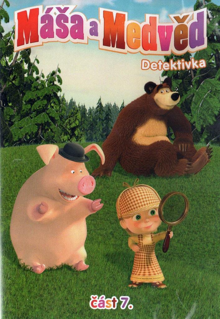 DVD Máša a Medvěd 7 - Detektivka