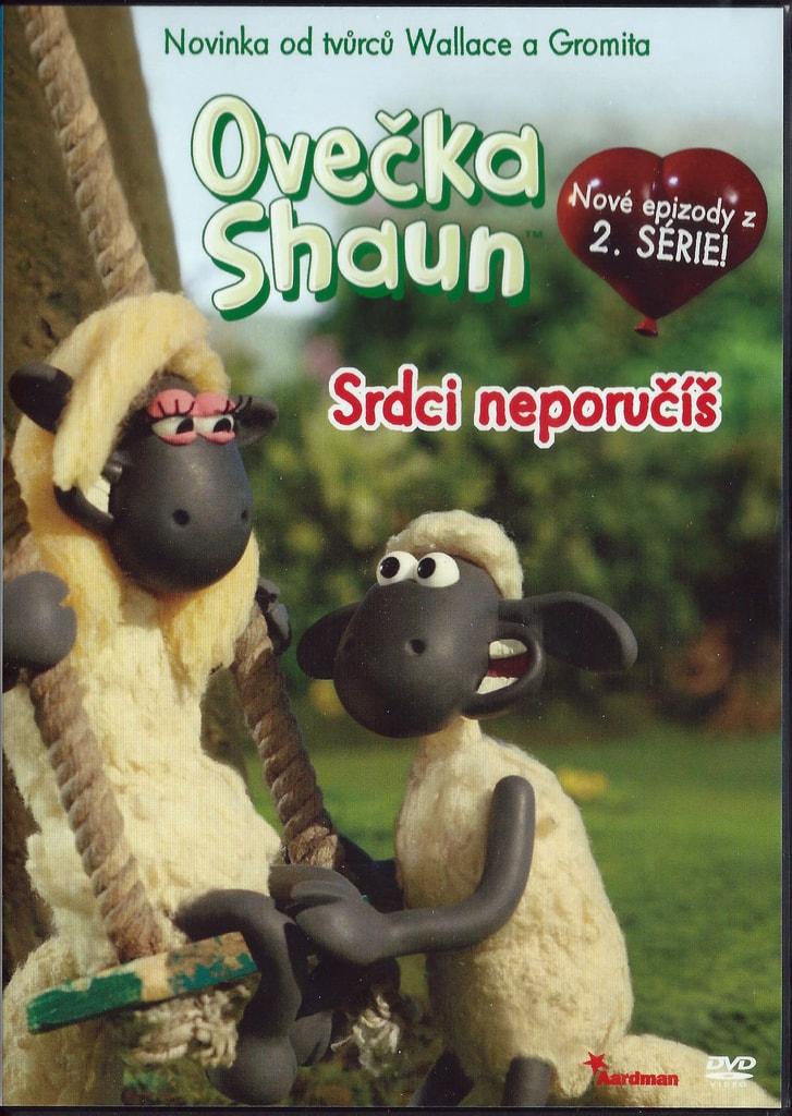 DVD Ovečka Shaun - Srdci neporučíš