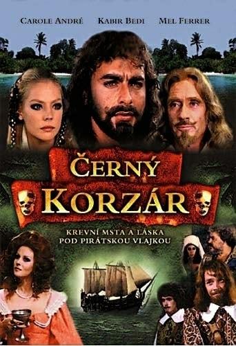 DVD Černý korzár