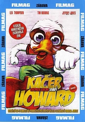 DVD Kačer Howard