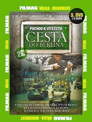 DVD Pochod k vítězství - Cesta do Berlína 3