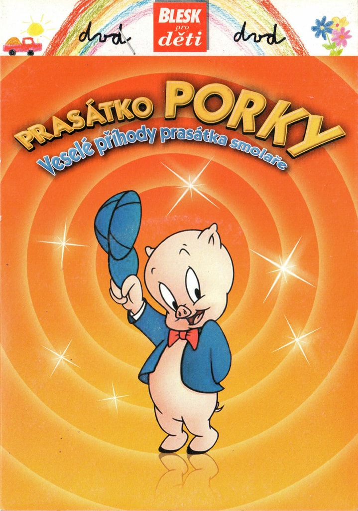 DVD Prasátko Porky: Veselé příhody prasátka smolaře