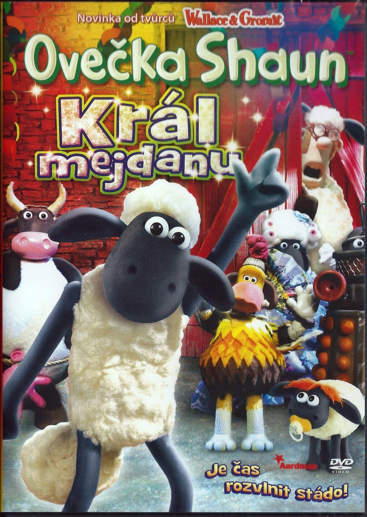 DVD Ovečka Shaun - Král mejdanu