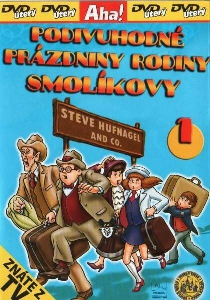 DVD Podivuhodné prázdniny rodiny Smolíkovy 1