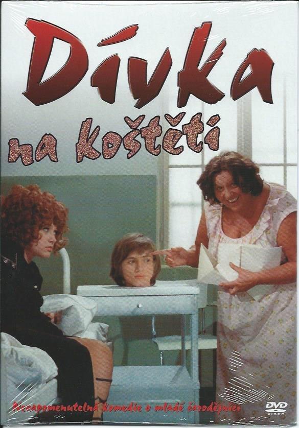 DVD Dívka na koštěti