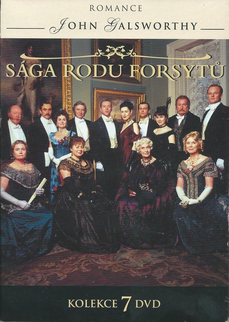 DVD Sága rodu Forsytů
