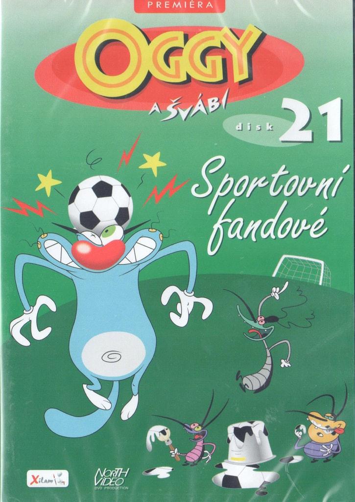 DVD Oggy a švábi 21 - Sportovní fandové