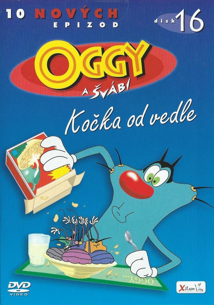 DVD Oggy a švábi 16 - Kočka od vedle