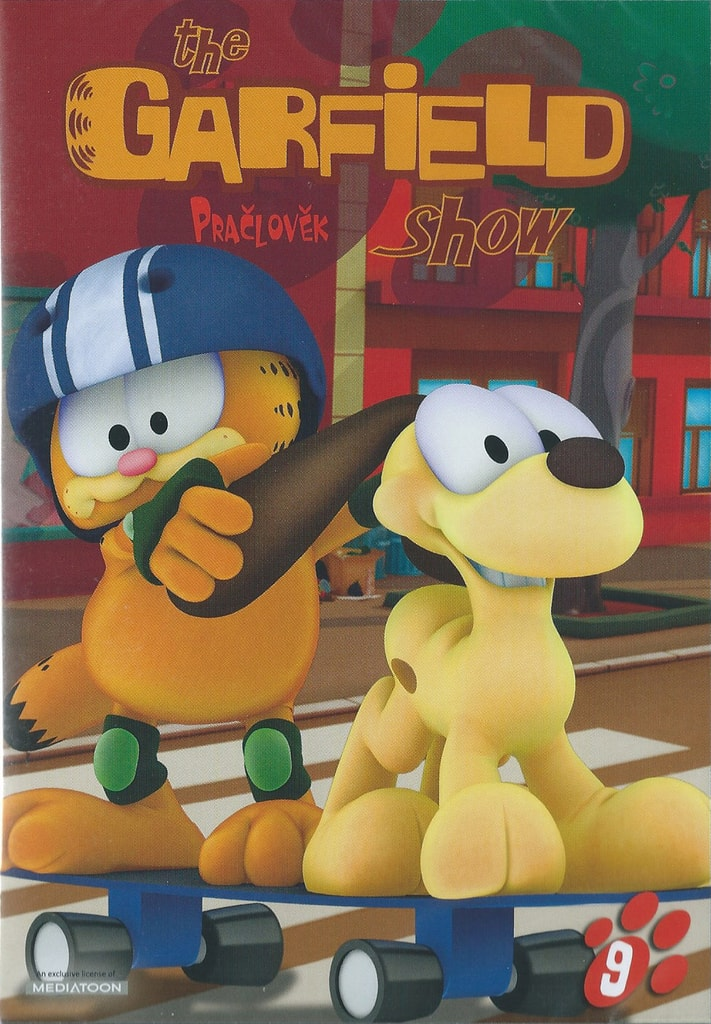 DVD The Garfield show 9 - Pračlověk