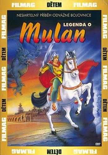 DVD Legenda o Mulan