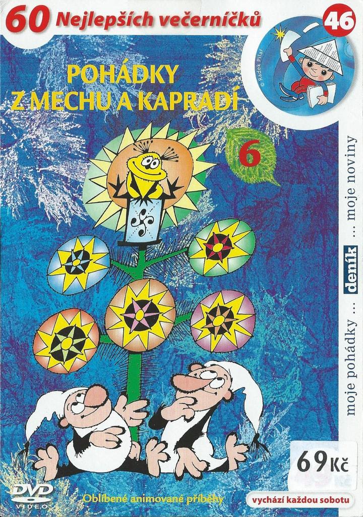 DVD Pohádky z mechu a kapradí 6