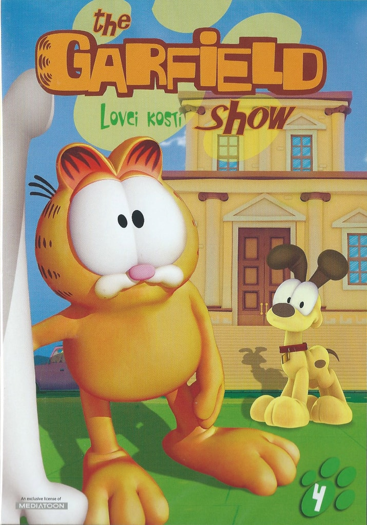 DVD The Garfield show 4 - Lovci kostí