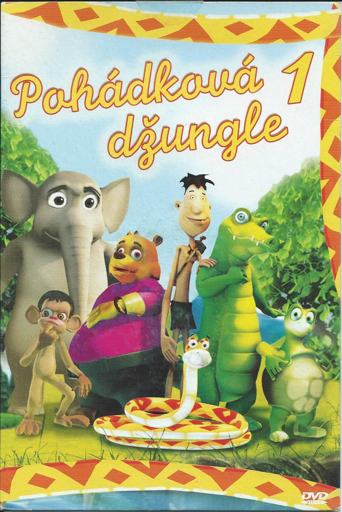 DVD Pohádková džungle 1