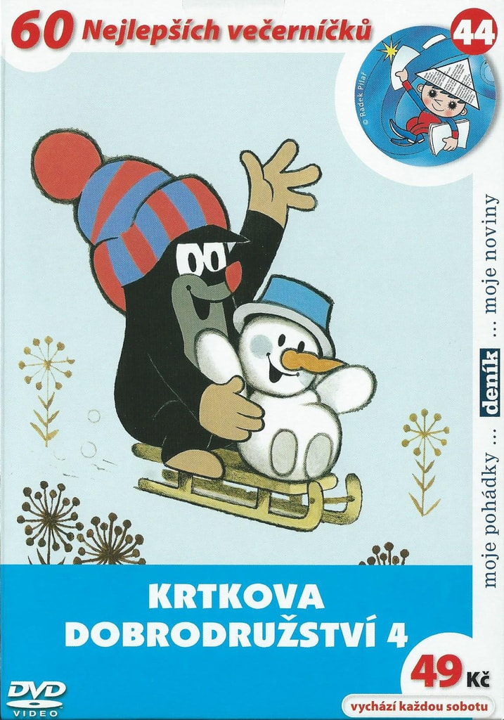DVD Krtkova dobrodružství 4