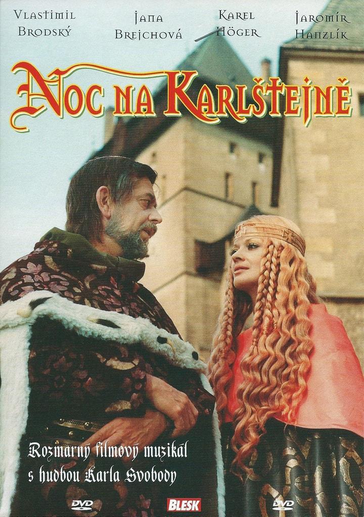 DVD Noc na Karlštejně
