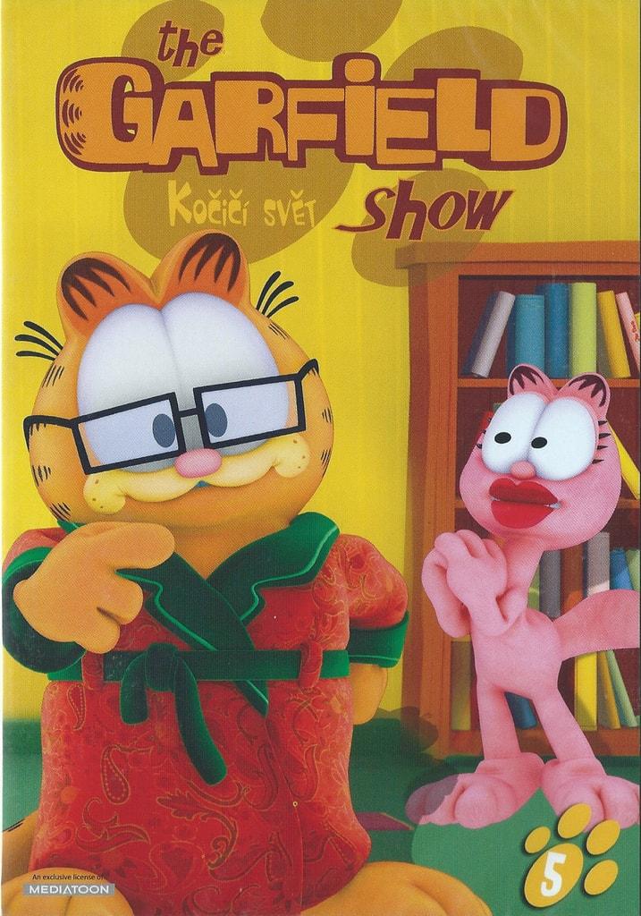 DVD The Garfield show 5 - Kočičí svět