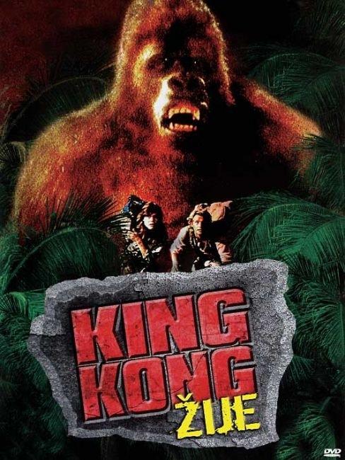 DVD King Kong žije