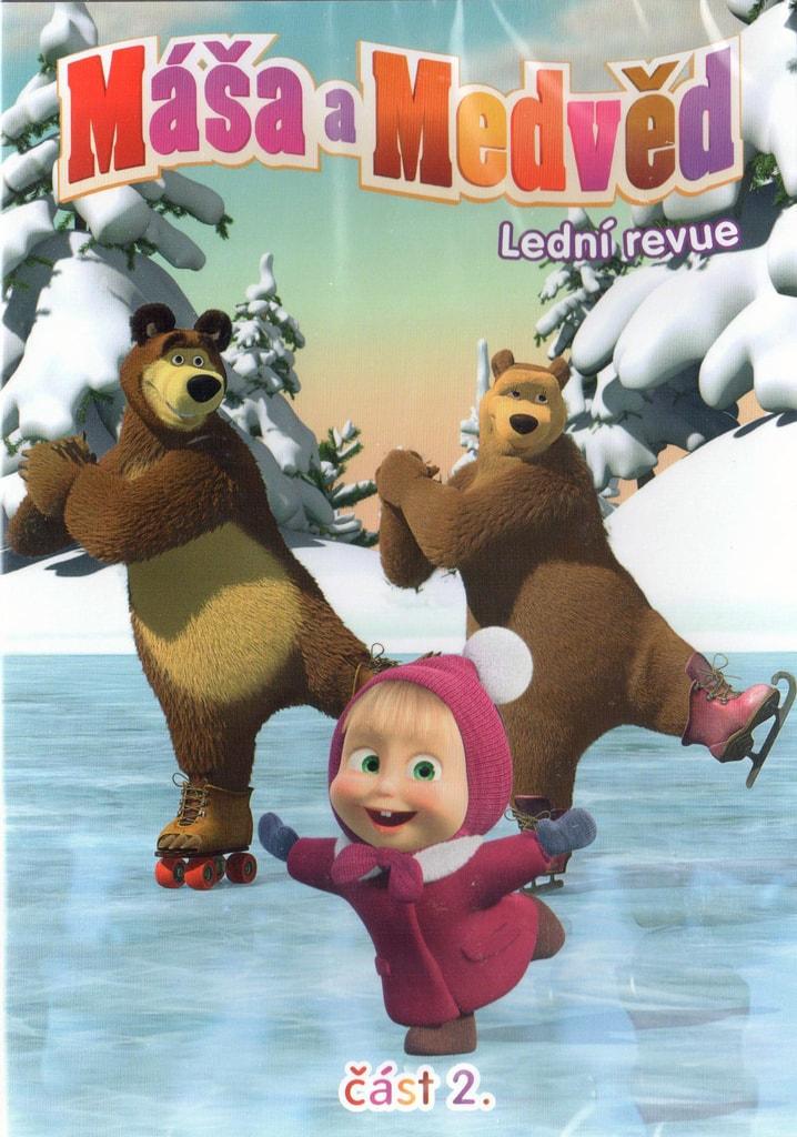 DVD Máša a Medvěd 2 - Lední revue