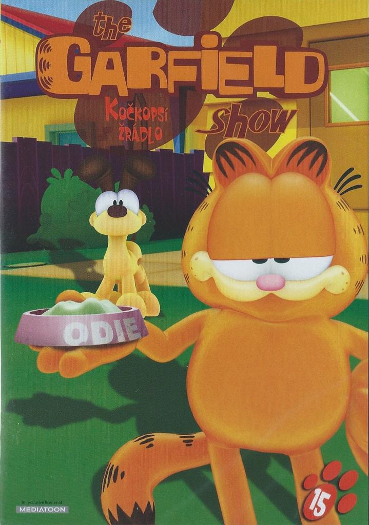 DVD The Garfield show 15 - Kočkopsí žrádlo