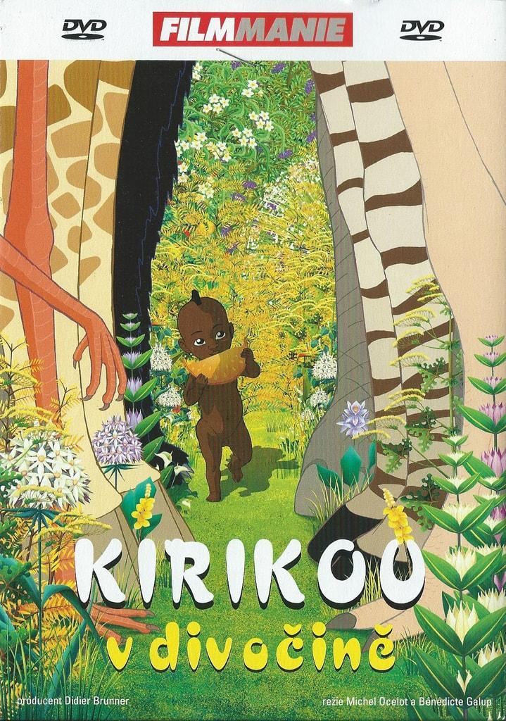 DVD Kirikou v divočině